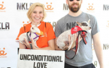 Volunteer Ryan at an NKLA adoption event